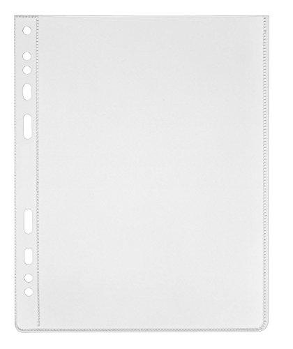 Veloflex 4360500–Cartelline, PP, Din A6, trasparenti, 50pezzi