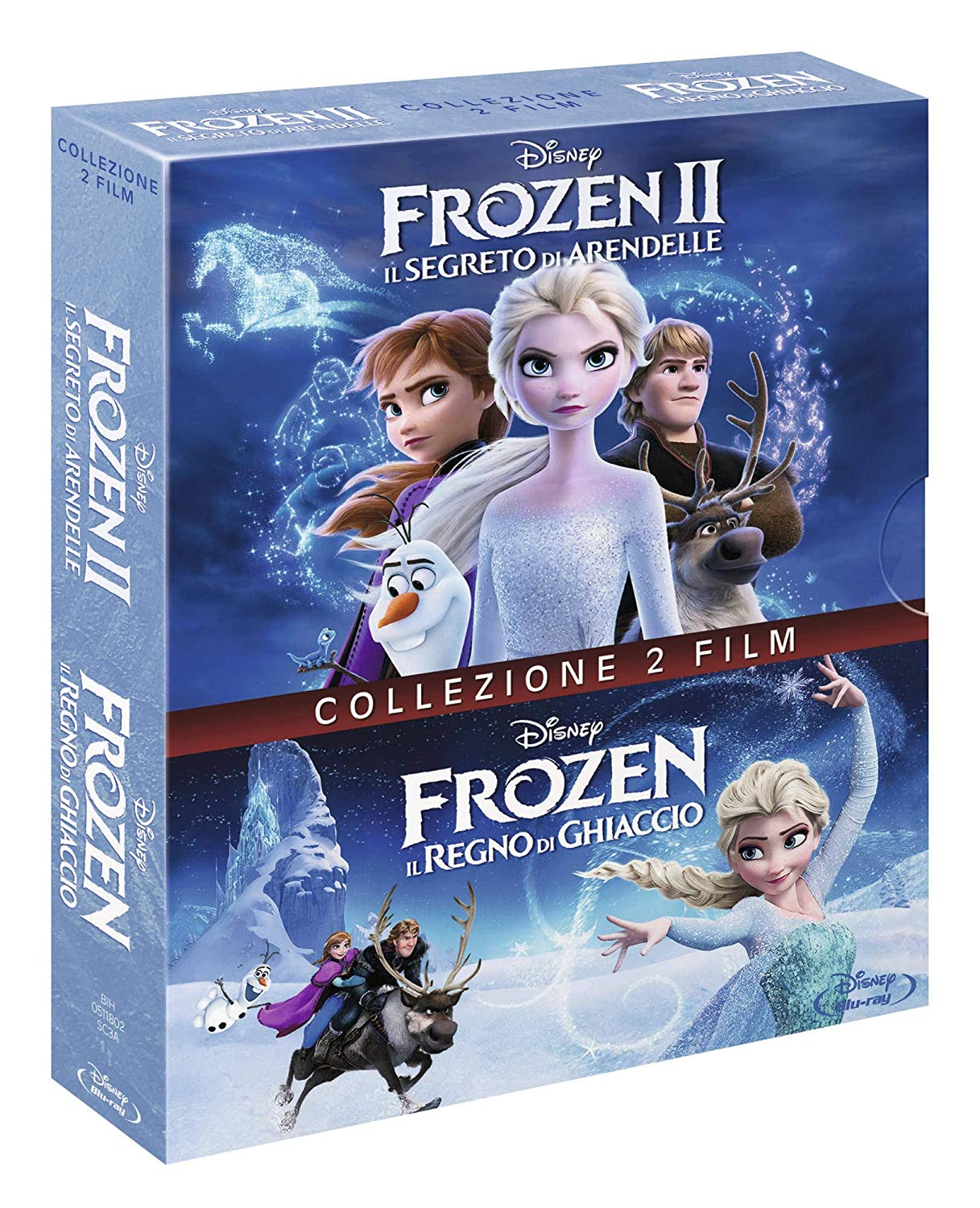 Frozen Cofanetto 1,2 (2 Blu Ray)