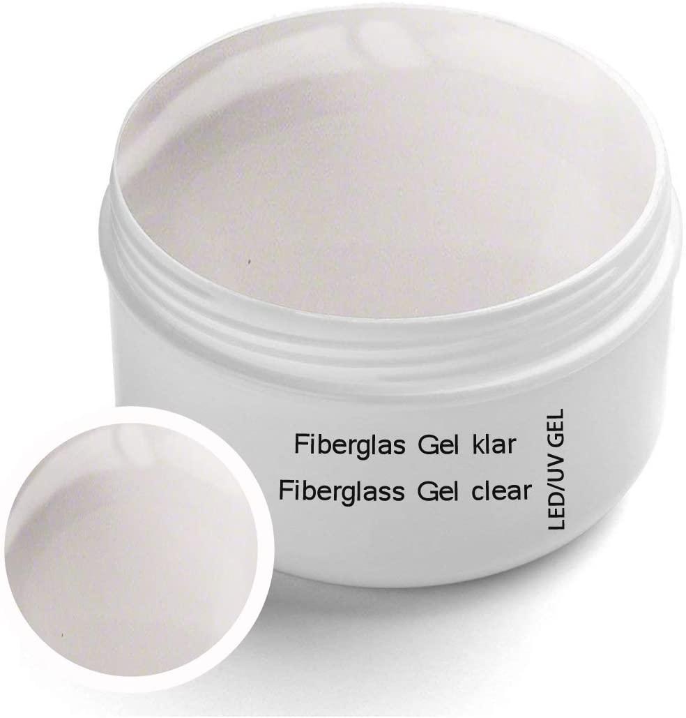 Sun Garden Nails Gel UV in fibra di vetro Monofasico Trasparente 30 ml