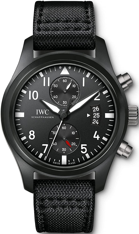 Iwc pilota Top Gun cronografo mens orologio IW388007