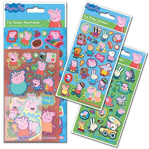 Paper Projects 01.70.24.047 - Confezione di adesivi Peppa Pig, standard