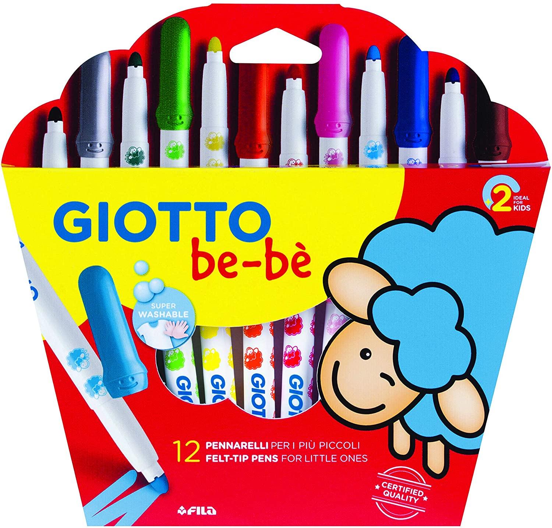 Giotto Bebè- Pennarello, Colore Assortiti, 466700