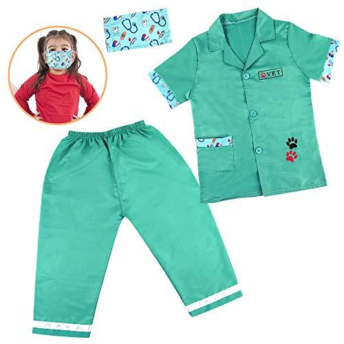 Valigetta Dottore Bambini Accessori Medico Giochi di Ruolo (Costume da Dottore)