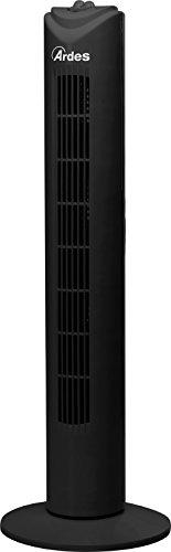 Ardes AR5T80B Ventilatore a Torretta Drito Bh, 40 W, Nero, Altezza 80 Cm