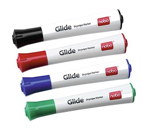 NOBO Glide pennarelli cancell tonda 4 pz. - Assortito - 1902096