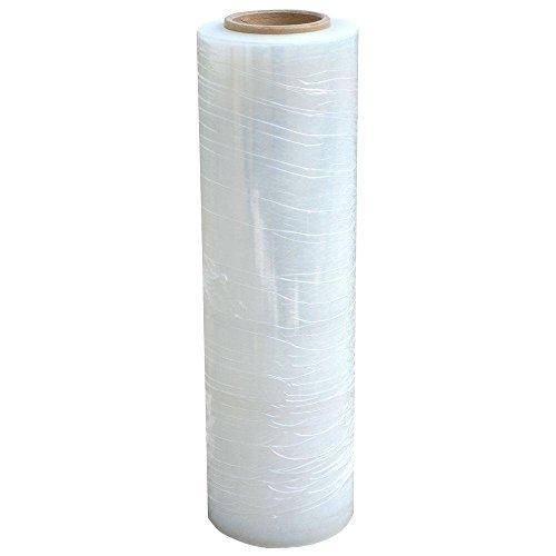 St@llion Pellicola elastica aderente da imballaggio, 400 mm x 250 m, trasparente