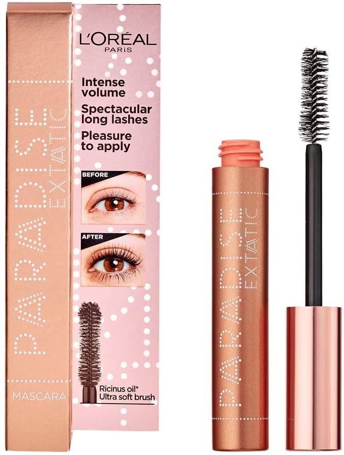 L'Oréal Paris Makeup Paradise Extatic Mascara Volumizzante e Allungante, Formula Arricchita con Oli Preziosi Nutrienti, 6.4 ml, Paradise