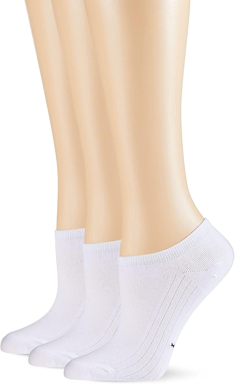 POMPEA Cotton Calzini alla Caviglia (Pacco da 3) Donna