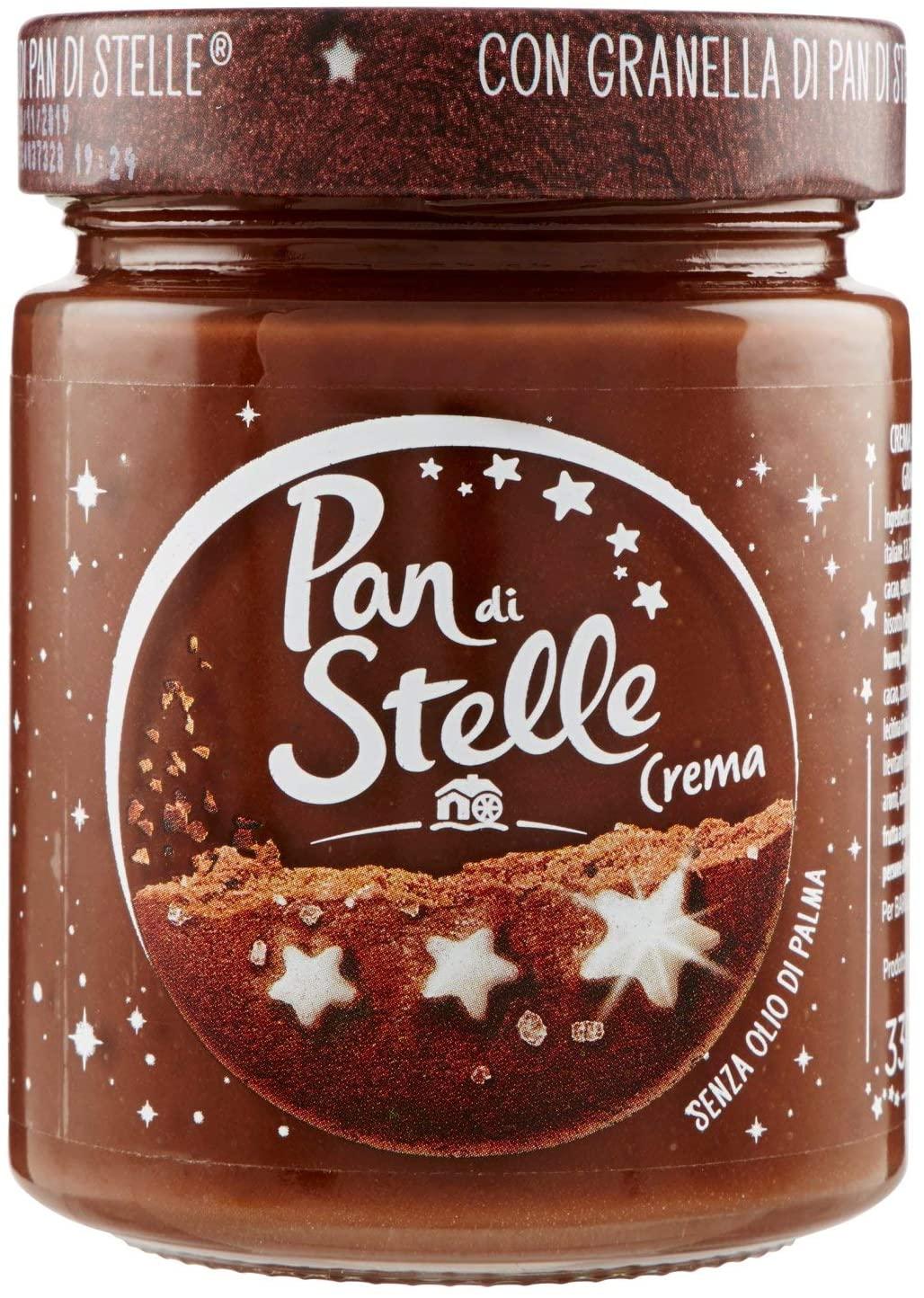 Pan di Stelle Crema Spalmabile di Cacao, Nocciole e Granella di Biscotto - 330 gr