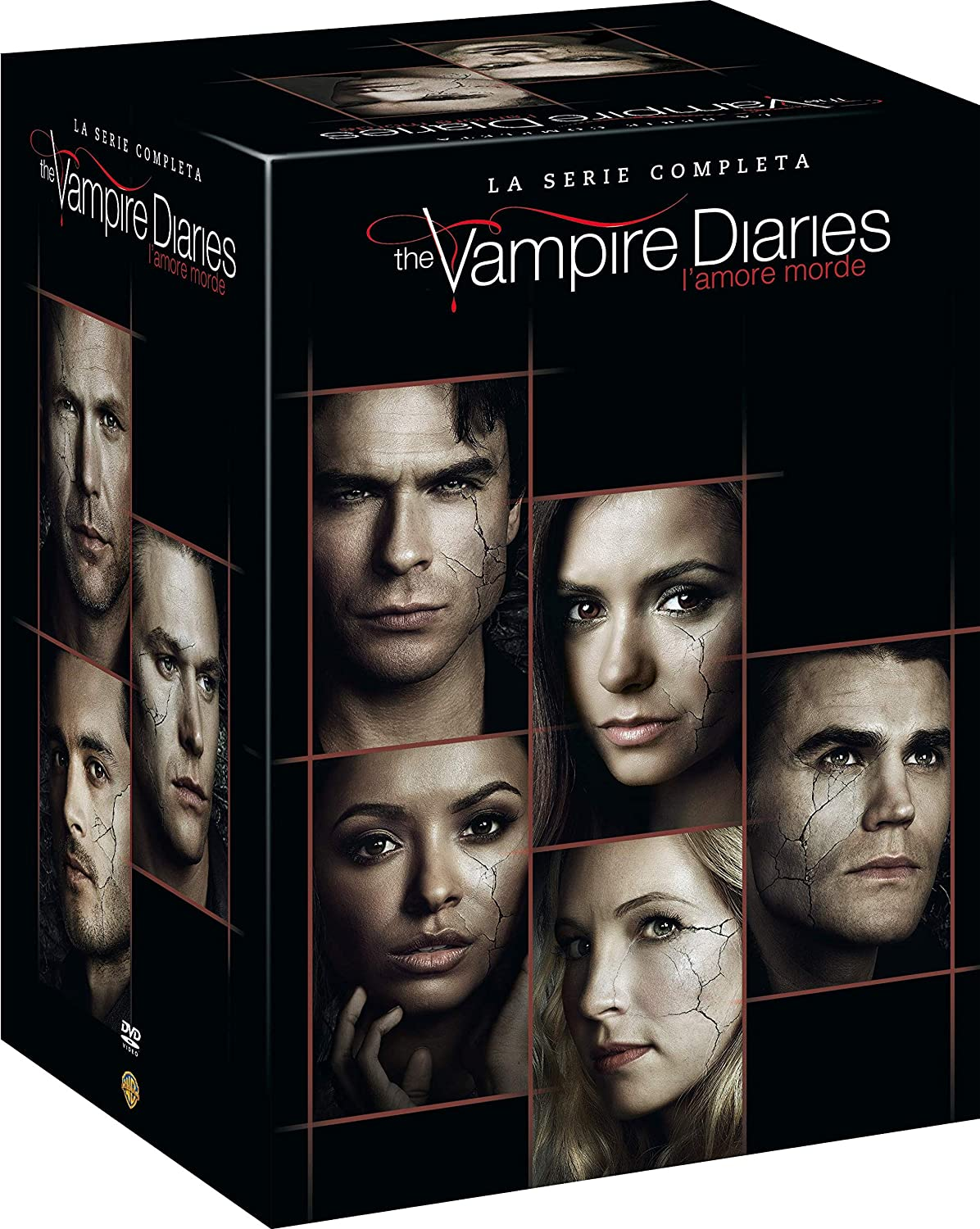 The Vampire Diaries - Serie Comp. (1-8) ( Box 38 Dv)