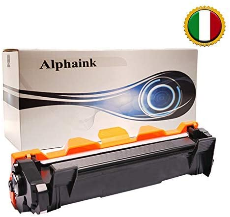 1 Toner Alphaink Compatibile con Brother TN-1050 versione da 1000 copie per stampanti Brother DCP1510 DCP1512 DCP1601 DCP1610W HL1110 HL1112 HL1211W MFC1810 MFC1815 MFC1910