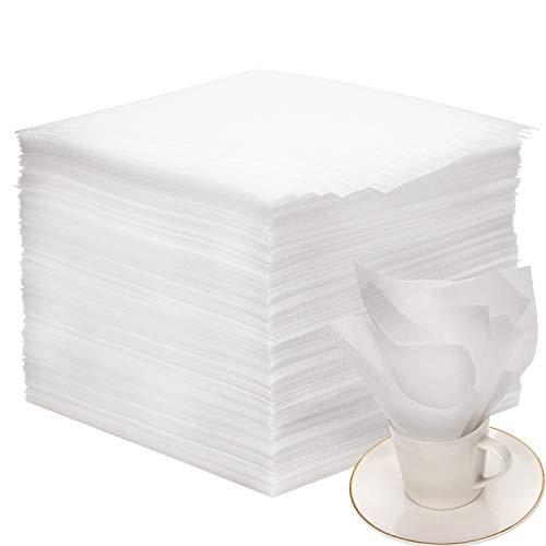AIEX Feuille de Mousse Pack Demenagement pour Cartons Déménagement Vaisselle, Plats, Assiettes, Verres Emballage(80 pièces,12x12x0.05 Pouces)