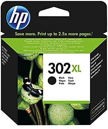 HP 302XL F6U68AE Cartuccia Originale per Stampanti a Getto di Inchiostro