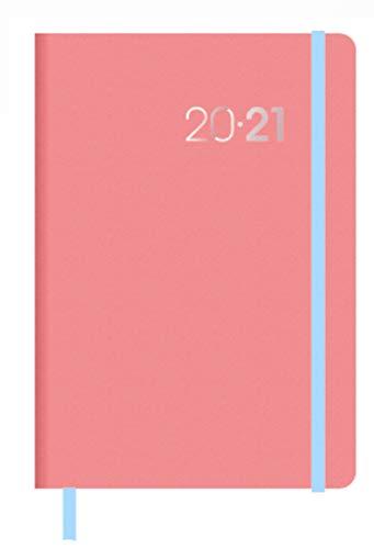 Collins Legacy 2020-2021 - Agenda settimanale, formato A6, colore: Rosa