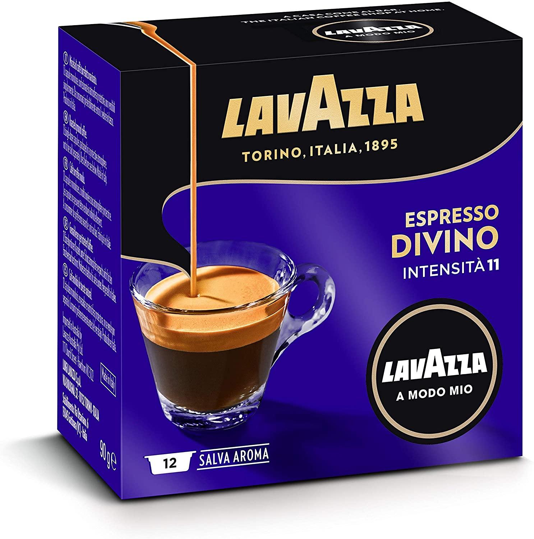 Lavazza Capsule Caffè A Modo Mio Espresso Divino, 10 Confezioni da 12 Capsule [120 Capsule]