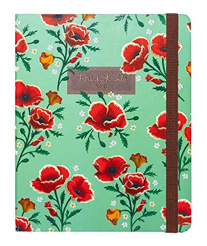 Agenda Settimanale 2020 2021 Frida Kahlo, ideale per la scuola, lavoro e tempo libero, 17 mesi, 16x20 cm
