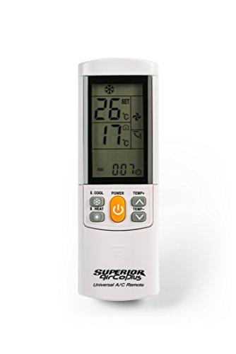 Superior AirCo PLUS - Telecomando universale per climatizzatori, 4000 codici
