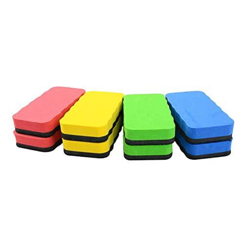 STOBOK 4 pz EVA Schiuma Lavagna Gomma Gommapiuma In Polvere Lavagna Lavagna Eraser Marker Cleaner Forniture Per Ufficio Scuola (Colore Casuale)