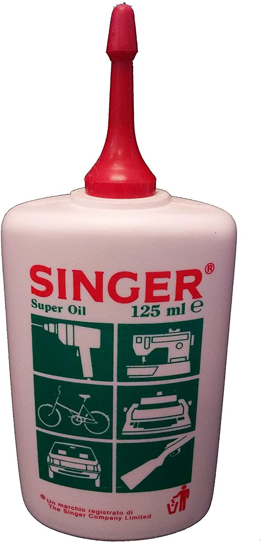 Singer 0570 Olio Lubrificante per Le Parti Meccaniche di Apparecchiature Elettrodomestiche