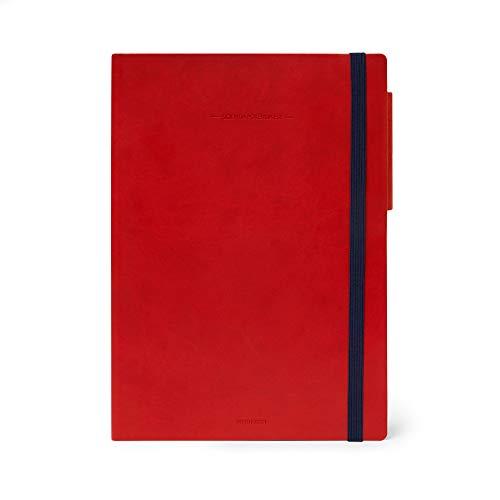 Legami - Agenda del Docente Settimanale 13 Mesi 2020/2021 Large, Red