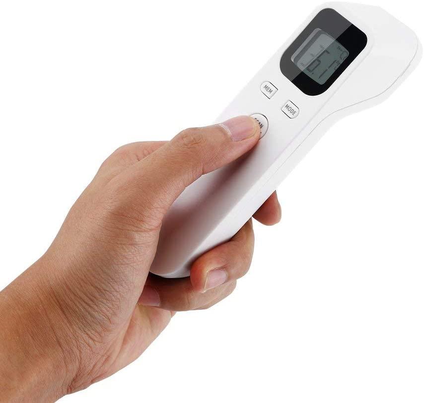 Katherinabait Termometro Frontale, Letture istantanee Accurate, Termometro Digitale a infrarossi Professionale Senza Contatto, per Neonati, Bambini, Adulti