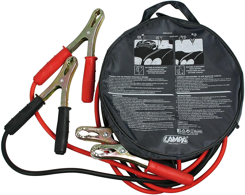 Lampa 70122 Cavi batteria Export 12V - 250 cm - 200 A - 6 mm²
