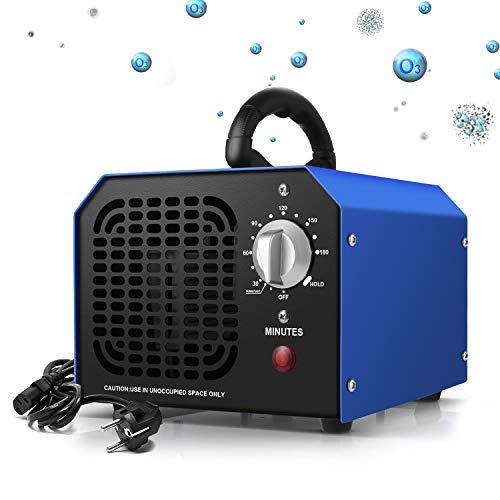 Generatore di ozono 6000mg / h Purificatore professionale di ozono con timer adatto per abitazioni, uffici, ristoranti, caffetterie, hotel e garage ecc.