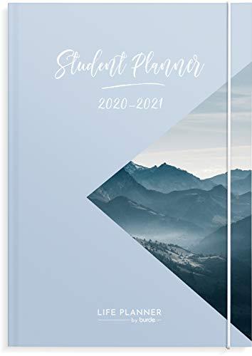 Student Planner 2020/2021 | prendi il controllo del tuo studio | Studi Tracker & liste delle cose da fare | Planner accademico per agosto 2020 – agosto 2021