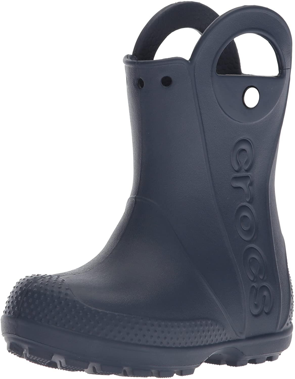 Crocs Handle It Rain Boot, Stivali di Gomma Unisex – Bambini