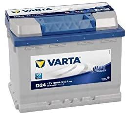 Varta 5604080543132 D24 Blue Dynamic Batteria Auto 12V 60Ah 540A