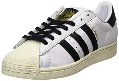 adidas Superstar, Scarpe da Ginnastica Uomo, Ftwr White/Core Black/Ftwr White, 44 EU