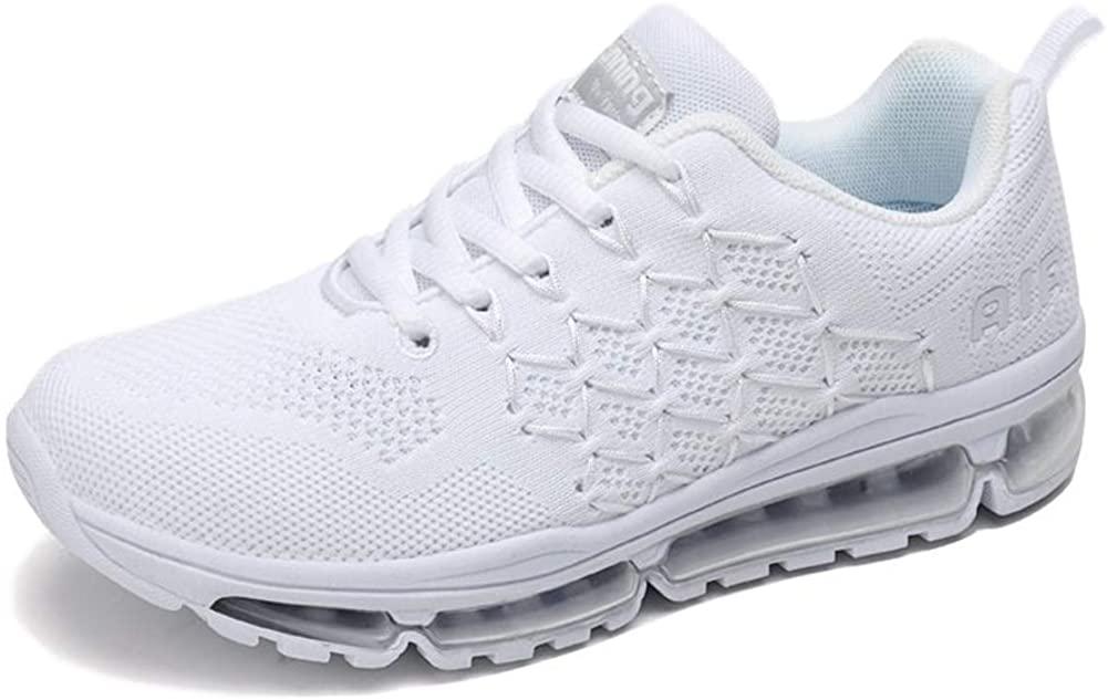 Uomo Donna Air Scarpe da Ginnastica Corsa Sportive Fitness Running Sneakers Basse Interior Casual all'Aperto 34-46 EU…