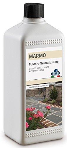 Glooke Selected GUBRA Detersivo Pavimenti neutralizzante Marmo/Pietre Naturali 1 lt, Multicolore, Unica