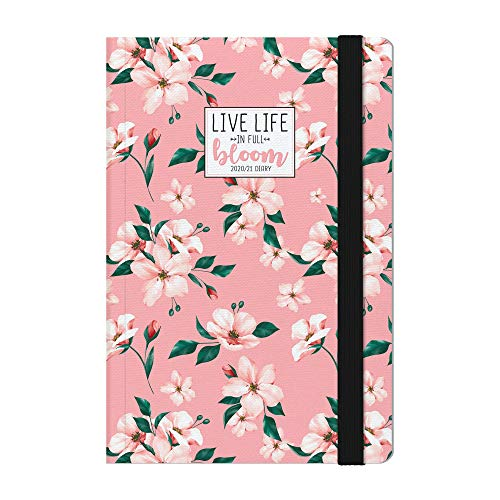 Legami - Agenda Settimanale 18 Mesi 2020/2021 Medium, con Notebook, Flowers