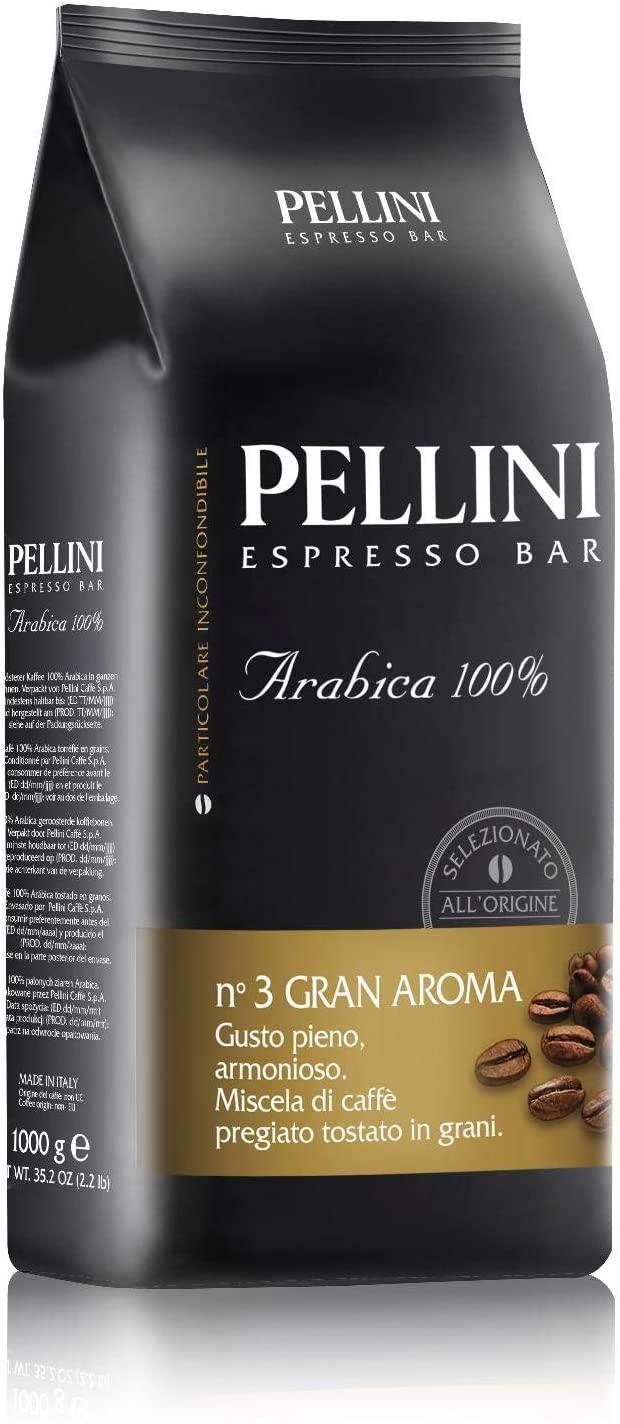 Pellini Caffè - Caffè in Grani Pellini Espresso Bar N.3 Gran Aroma, 1 kg