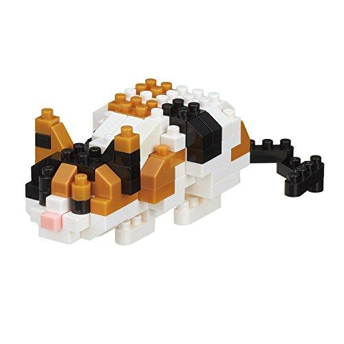 Nanoblock - NB-C265 Cat Breed Calico Cat Micro Costruzione