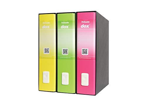 Esselte Trendy Tridox A4 Raccoglitoria Leva A4, Multicolore 390262001
