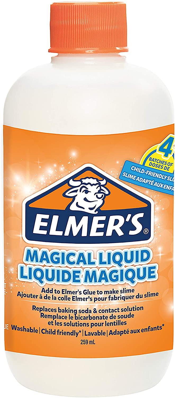 ELMER'S Liquido Magico per Slime, Ottimo per Realizzare Slime, Flacone da 259 ml, Incolore