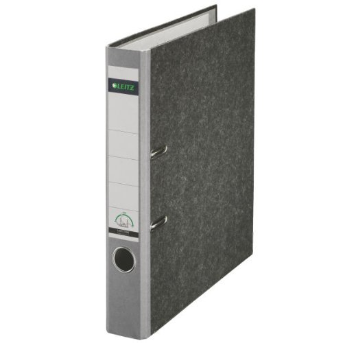 Leitz Cardboard binder 180° Grigio cartella