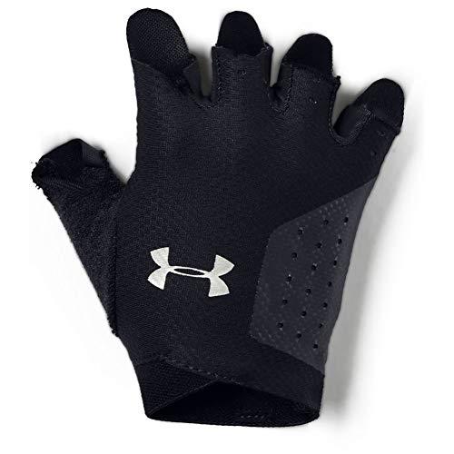 Under Armour Women's Training Glove, Guanti Donna, Nero (Black/Silver), S