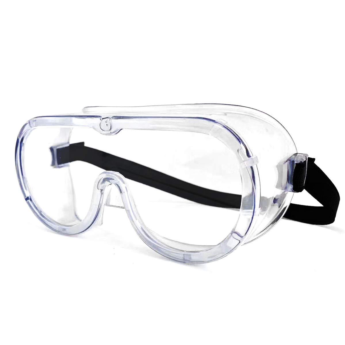 Occhialini di sicurezza anti appannamento avvolgibili occhiali di sicurezza contro gli occhi sigillati occhiali(Venditore laixiulife consegna Amazon)