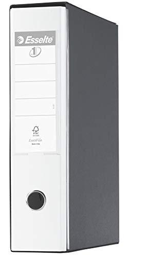 ESSELTE G55 EUROFILE Registratore - f.to protocollo dorso 8 cm - Bianco VIVIDA - 390755040