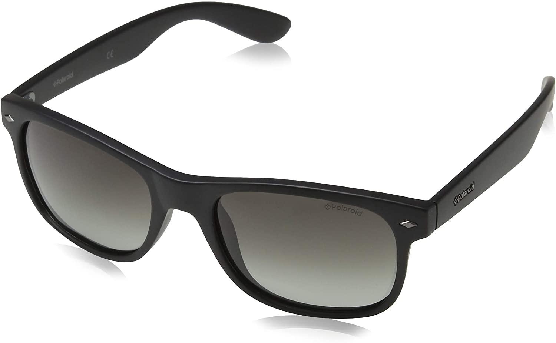 Polaroid - PLD1015/S - Occhiali da Sole Uomo Rettangolare - Polarizzati - Materiale leggero - 100% UV400 protezione - Custodia protettiva inclusa