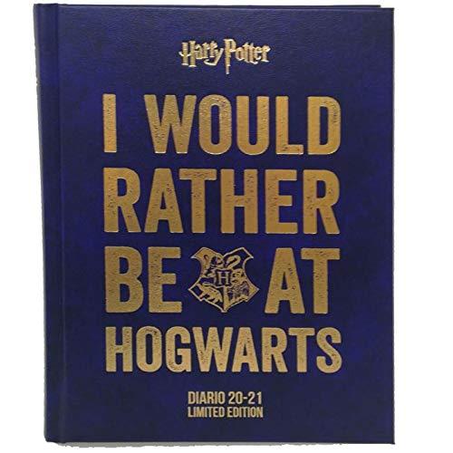 Harry Potter Diario Agenda Scuola Datato 2020/2021 - Prodotto Ufficiale - Dimensioni 13.5x18.5 cm circa Pagine in Lingua Italiana Copertina Rigida