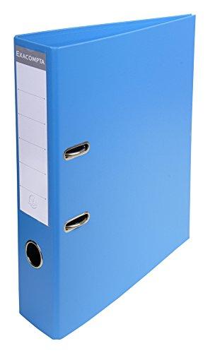 Exacompta 53742E Raccoglitori a Leva, 32x29 cm, Blu