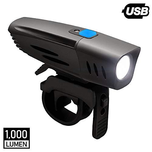 DONPEREGRINO F1 – 1000 Lumen LED Fanale Anteriore Bici Potente con Sensore