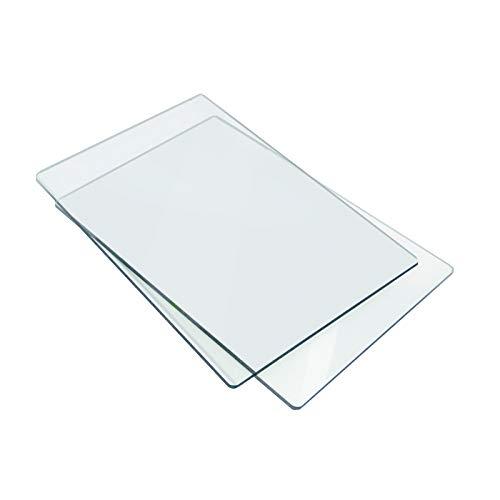 Sizzix 655093 Piani da Taglio Standard, 1 Paio, Plastico, 22.5 x 15.5 x 0.7cm