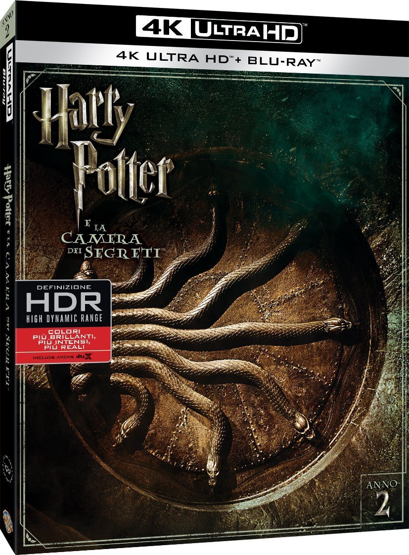 Harry Potter E La Camera Dei Segreti (4K+Br)
