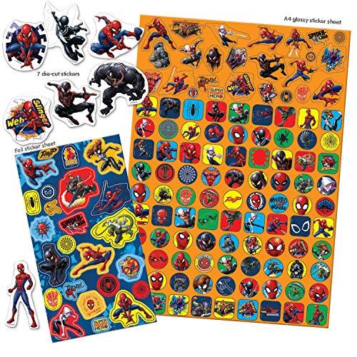 Paper Projects 9124240 - Confezione di Adesivi Spider-Man