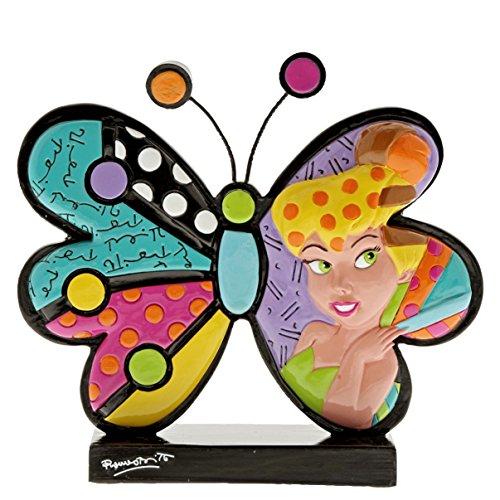 Disney By Romero Britto 6001008 Busto di Trilly in Forma di Farfalla